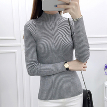 shintimes Sueter Mujer Invierno 2019 New Fall Winter Clothes Women Sweater High Elastic Sweters Korean Style Pullover Pull Femme