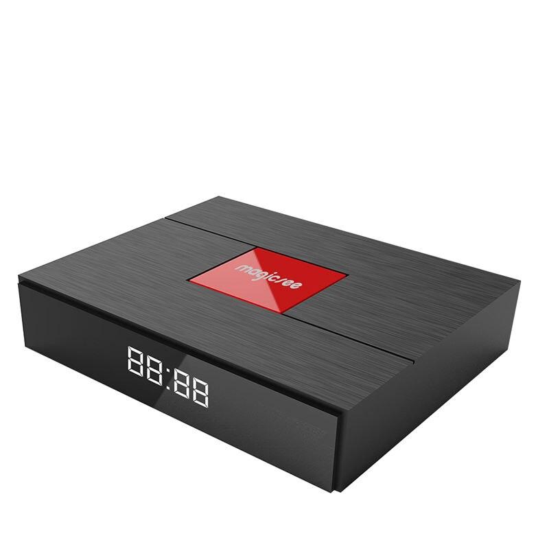 Magicsee C400 Plus Android 7.1 double Wifi TV Box Amlogic S912 Quad Core 3G + 32G Smart TV Box avec décodeur HD 4K (prise EU)