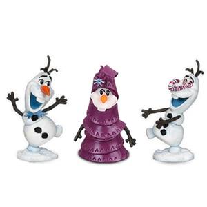 Image 4 - 10Pcs/set Frozen2 Snow Queen Elsa Anna  PVC Action Figures Olaf Kristoff Sven Anime Dolls Figurines Kids Toys For Children Gifts