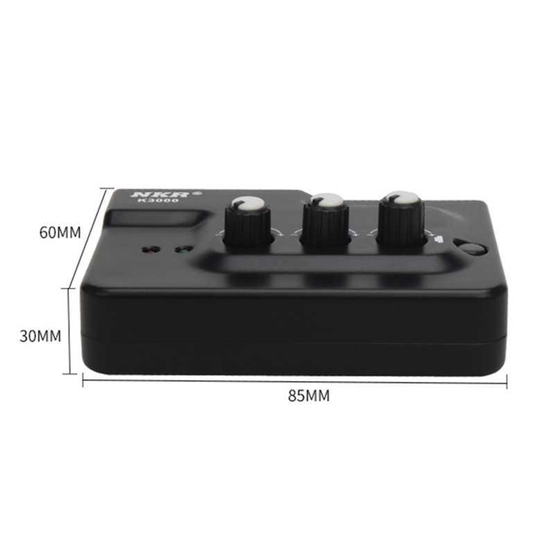 プロ USB 外部サウンドカードエコーオーディオインタフェース外部デュアルマイク入力プラグプレイライブ放送電話 Vid