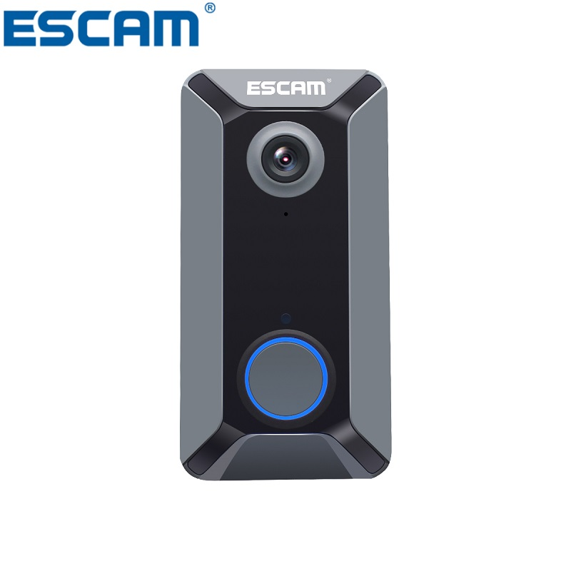 ESCAM V6 720P Wireless Doorbell Battery Video Camera Free Cloud Storage Waterproof Home security Doorbell image