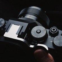 Prata polegar resto up polegar aperto quente sapato capa para fuji xt4 x t4 fujifilm X T4 câmera digital mirrorless