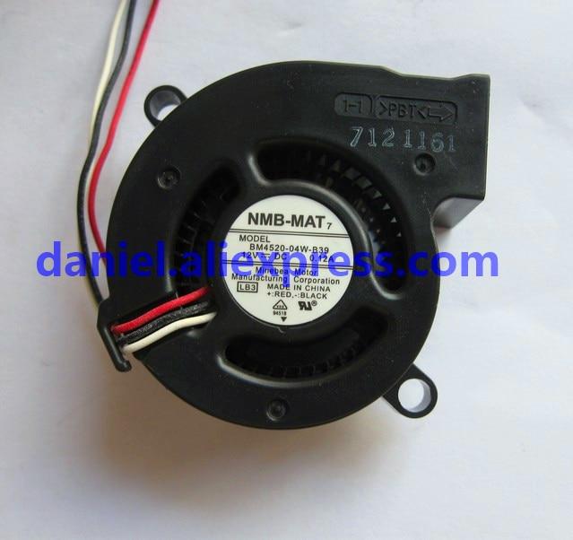 Original NMB BM4520-04W-B39 4520 12V 0.12A Three-wire Projector / Instrument Turbo Fan