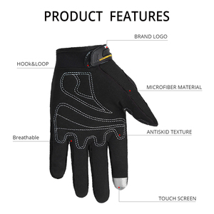 Image 3 - SUOMY Motorcycle Gloves Men Racing Gant Moto Motorbike Motocross Riding Gloves Motorcycle Breathable Summer Full Finger Guantes