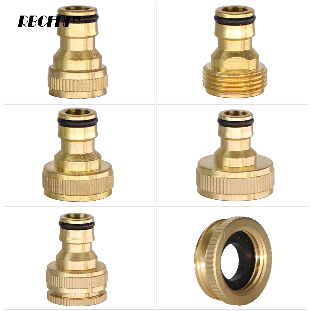 Brass Faucet Tap Quick Connector M22 Female Thread Hose Pipe Adapter Fitting