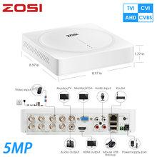 ZOSI-système de caméra vidéo de sécurité | Caméra vidéo de Surveillance DVR sans disque dur, 5mp 8 canaux 2560x1920