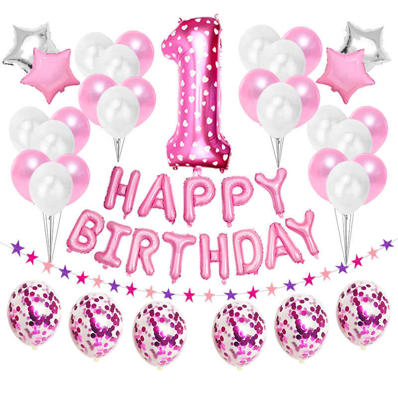 GIRLS 12th BIRTHDAY BANNER PARTY BUNTING MULTI COLOUR 5 NUMBER SETS