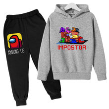 Boys and Girls Hoodie 2021 Spring Print Hoodie Children and Teenagers Boys and Girls Cartoon Fashion Casual Sweatshirt 4-14T