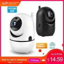 YCC365 Plus Camera IP 1080P WiFi An Ninh Ngôi Nhà Camera IP Giám Sát Không Dây Mây Tự Động Theo Dõi Phát Hiện Chuyển Động Cam