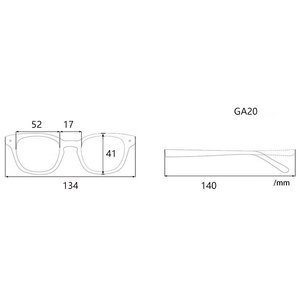 Image 2 - Marcos para gafas con receta rectangulares transparentes de acetato para mujer