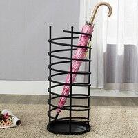 Household umbrella Stand storage bucket door umbrella holder stand home hotel metal Umbrella storage rack shelf mx10291159