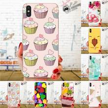 Art Painted Cover Style Cell Phone Case Heart Dessert For Apple iPhone 4 4S 5 5C 5S SE 6 6S 7 8 11 Plus Pro X XS Max XR(China)