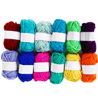 12Pc Wool Yarn Color...