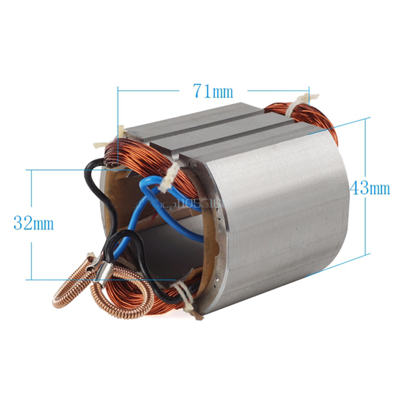 AC220-240V Electric Hammer Drill Stator Coil For MAKITA 100 9523NB 9524NB 9525NB 521623-6