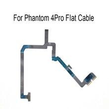 Câmera cardan reparação fita cabo plano para phantom 4 pro macio flexível fio cabo flex peças de reparo
