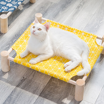 Canvas Elevated Pet Bed