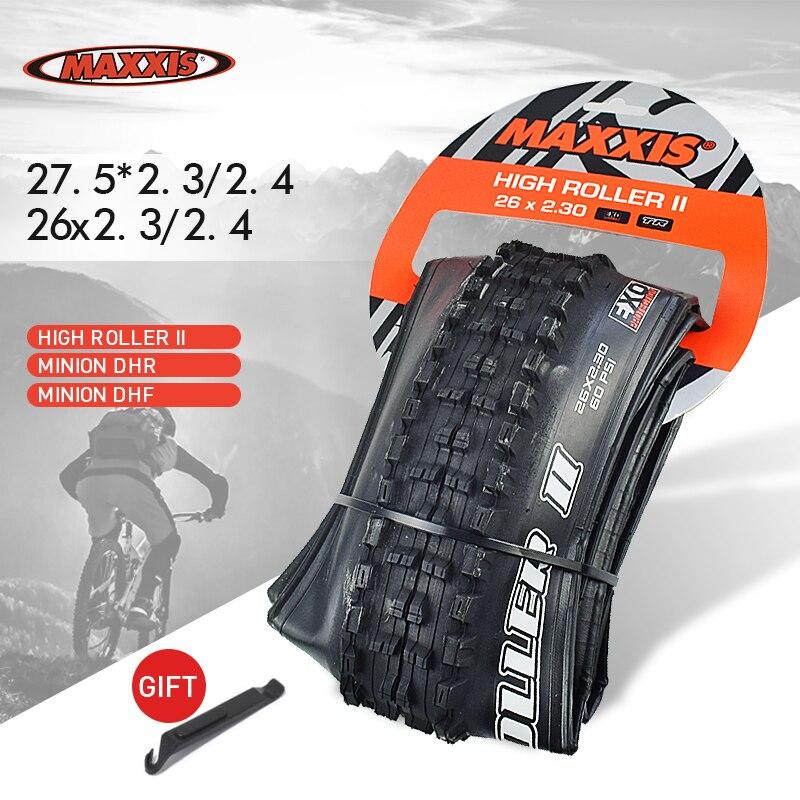 Шины для горного велосипеда MAXXIS TR 26 27,5 бескамерные готовые 26*2,3 27,5*2,4 2,5, шины для горного велосипеда, Складные шины MINION DHF DHR