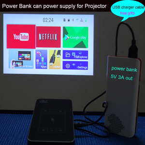 Image 3 - Newest Android7.1.2 Mini DLP LED Home Cinema Smart Projector 2G RAM Full HD 1080P Beamer Blutooth AirPlay Miracast AC3 Proyector