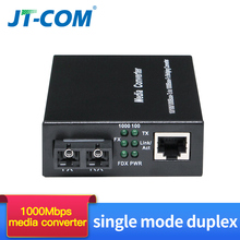Buy 1 pair 1000M FTTH Optic Fiber Media Converter SC rj45 Single Mode Duplex Gigabit Fibra Optica 1G1E/2E/4E/8E Transceiver 20/40km directly from merchant!