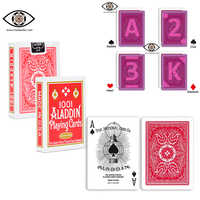 magic cheat poker for Infrared lenses, invisible ink marked plastic playing cards, marked cards