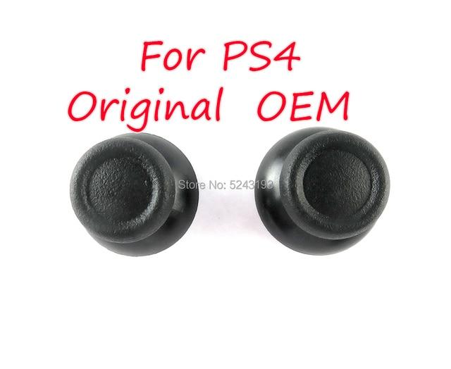 50 sztuk oryginalny OEM wysokiej jakości 3D analogowe Thumbsticks dla Sony Dualshock 4 PS4 DS4 kontroler analogowy kciuk kij Cap uchwyty