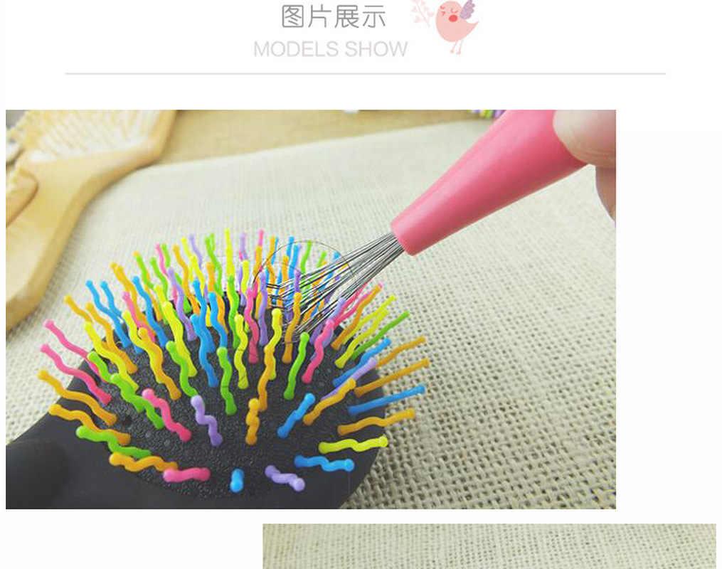 Penjualan Panas Mini Sikat Rambut Sisir Cleaner Magic Menangani Shower Kusut Salon Penataan Alat