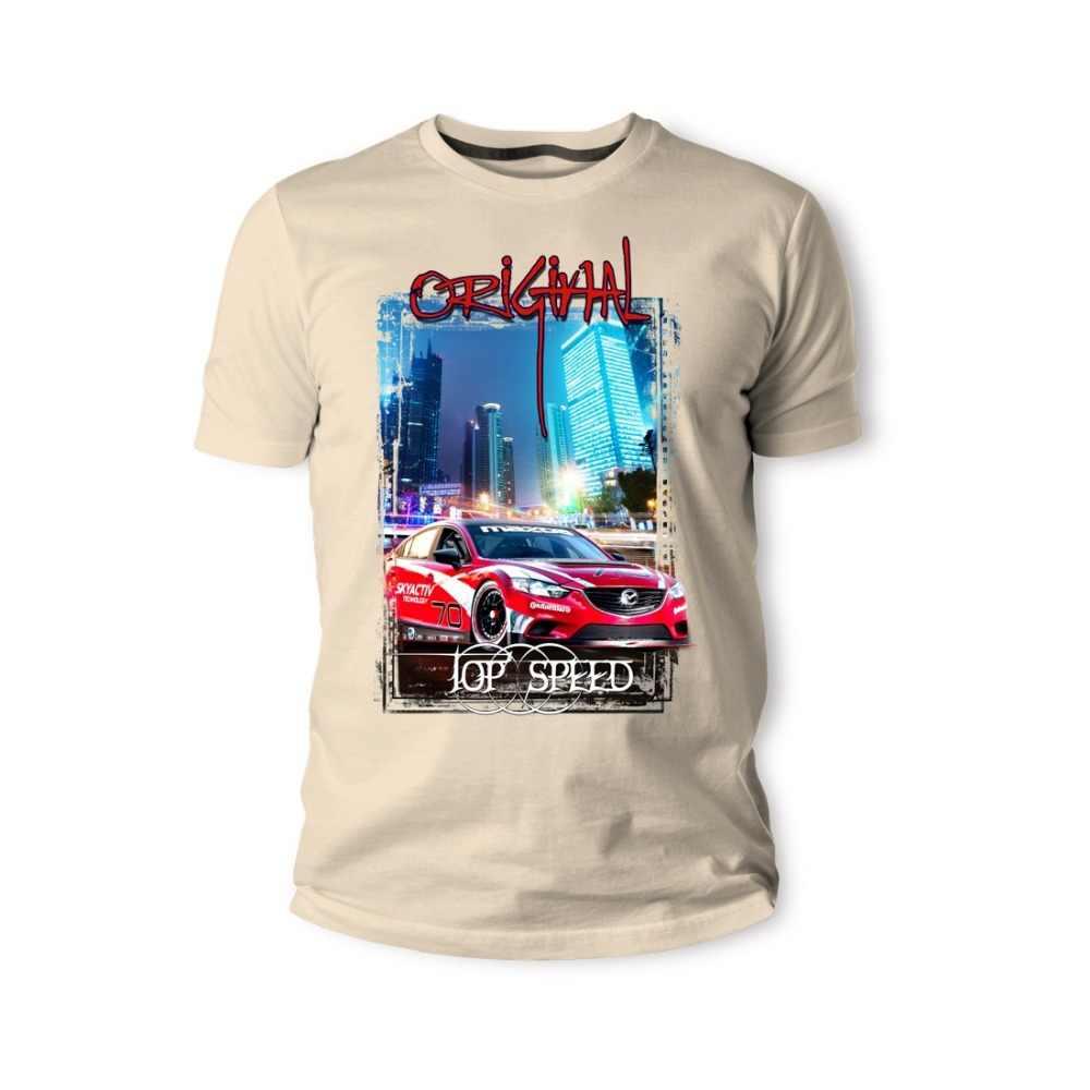 Matsuda Rx-7 6 Skyactiv Rot Pink Auto 2020 gorąca wyprzedaż super modna moda letnia zabawny nadruk t-shirty stwórz własną koszulkę