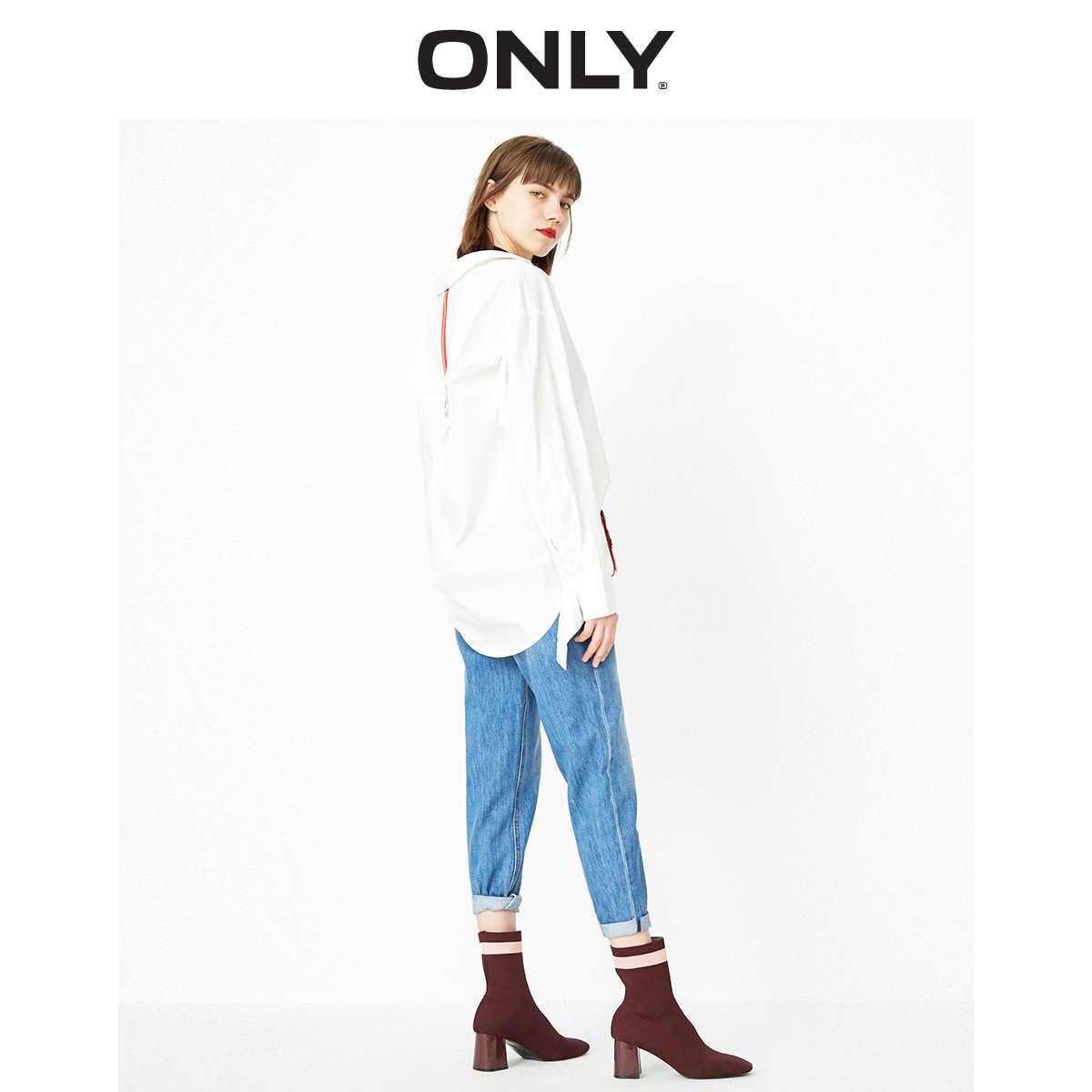 Alleen Vrouwen Licht Kleur Laagbouw Ripped Straight Fit Crop Jeans | 119149587
