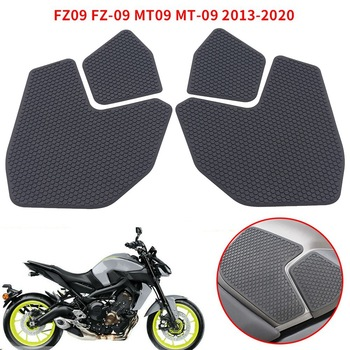 Motorcycle Protector Tank Traction Pad Side Gas Knee Grip Protector for YAMAHA FZ09 FZ-09 MT-09 MT09 2013-2020