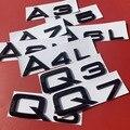 Оригинальная пластиковая наклейка для Audi Sline A3 A4 A5 A6 A7 A8 эмблема S3 S4 S5 S6 S7 S8 RS3 RS4 RS5 RS6 RS7 RS8 логотип значок наклейка