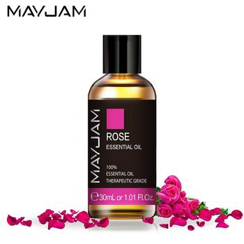 30ml Pure Natural Essential Oils Rose Lavender Jasmine Vanilla Eucalyptus Mint Sandalwood Lemon Cinnamon Tea Tree Essential Oil недорого