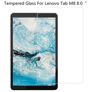 Protetor de tela de vidro temperado de 0,3 mm para Lenovo Tab M8 8.0 Filme protetor de tablet anti-riscos para TB-8505F 8705F 8705N 8505X