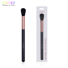 Docolor 1PCS Highlighter Brush Synthetic Hair Professional Makeup Beauty Essential Brushes for Women Cosmetic