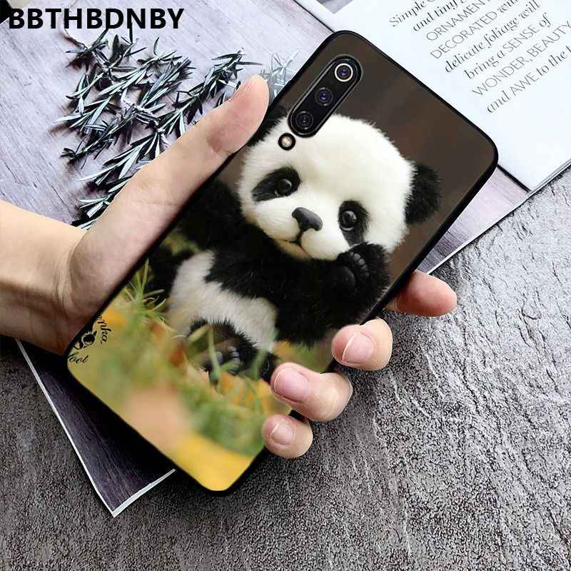 Caso de telefone panda colorido bonito caso de telefone para xiaomi 8 9 se redmi 6 6pro 6a 4x7 nota 5 7