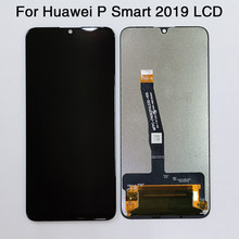 LCD da 6.21 pollici Per Huawei P di Smart 2019 Display LCD + Touch Screen Digitizer Assembly Lcd Sostituire POT-LX1 L21 LX3(China)