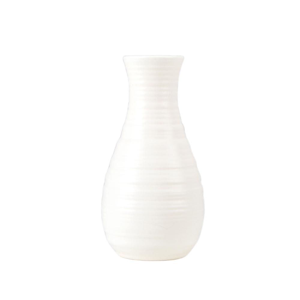 Скандинавском стиле Цветочная корзина ваза для цветов и рисунком в виде птичек-оригами Пластик ваза мини бутылка имитация Керамика украшение цветочный горшок для дома - Цвет: RL1264F