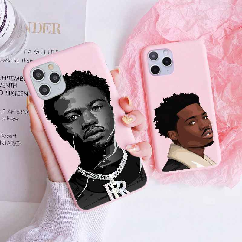Roddy Ricch Rap Rapper The Box For iphone 11 Yellow Phone Case Funda Cover For iPhone 6 7 8 Plus X XR 11 12 Mini Pro Max Case
