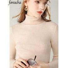foreacha autumn plus size high-neck women