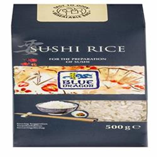 Blue Dragon Sushi Rice 500g (Case Of 12)