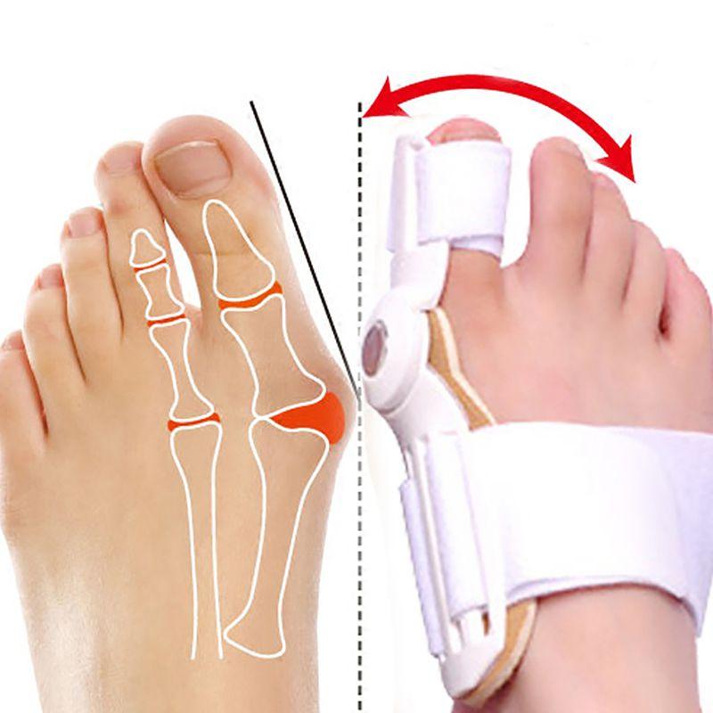 Toe Bunion Corrector Separators Protective Cover Foot Care Straightener Toes Bone Orthotics Orthopedic Supplies