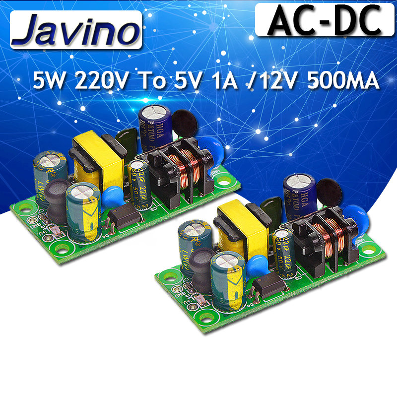AC-DC Isolated Switch <font><b>Power</b></font> <font><b>Supply</b></font> Module Converter 5W 220V To <font><b>5V</b></font> <font><b>1A</b></font> /12V 500MA switching <font><b>power</b></font> <font><b>supply</b></font> <font><b>Power</b></font> <font><b>supply</b></font> module image