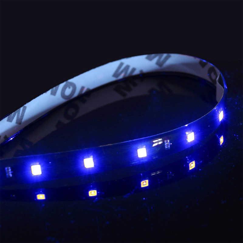 1x30 سنتيمتر 15 SMD سيارة LED قطاع ضوء تصفيف السيارة الداخلية ديكور جو مصابيح تعديل الخارجي المحيطة ضوء DRL