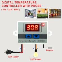 цена на Digital Temperature Controller Thermostat for Aquarium Incubator Water Heater Temp Regulator Thermal Control 12V/ 24V/ 220V