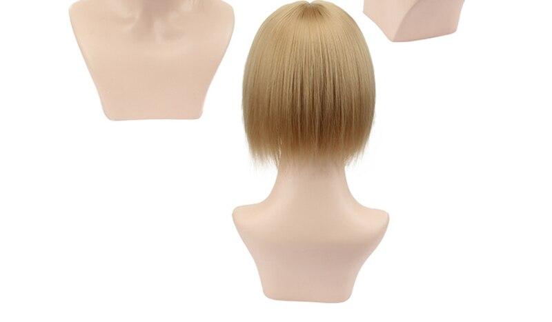 feminino toupees fibra de alta temperatura