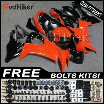 Custom motorcycle fairing for ZX-10R 2008-2010 ABS motor panels Body Kit orange+gifts