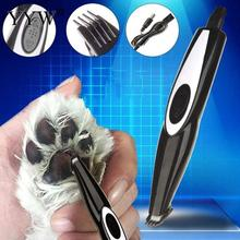 Pet Shaver Dog Cat Foot Hair Trimmer Grooming Tool Silent Electrical Shearing Machine Usb Rechargeable