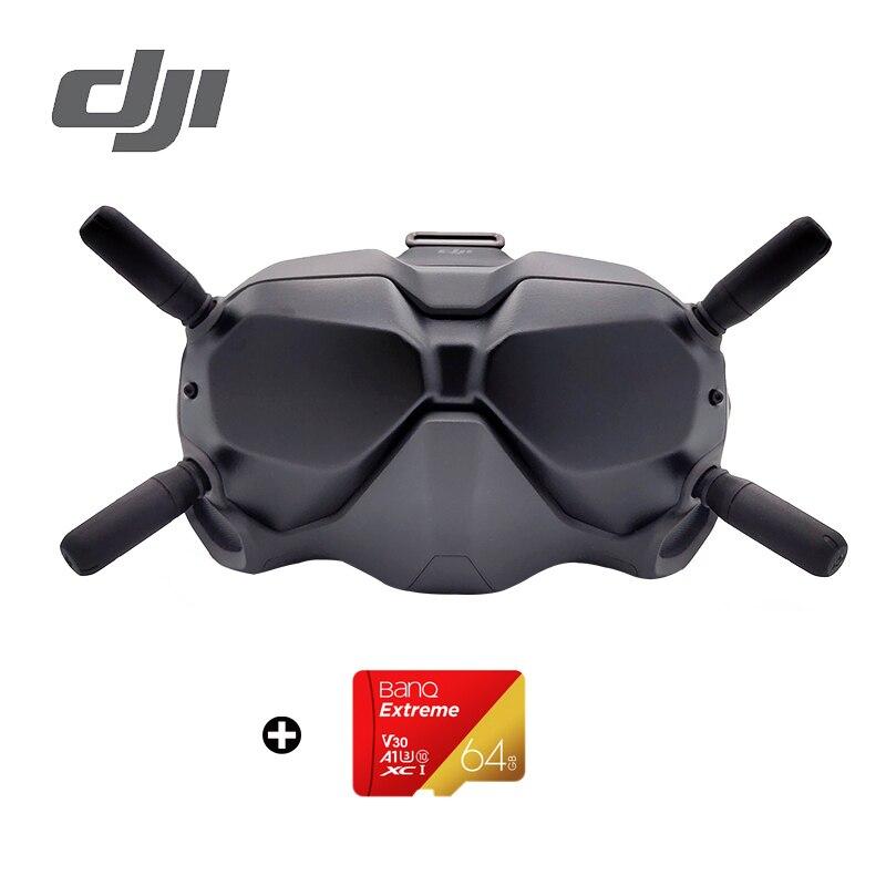 Dji fpv óculos de proteção digital fpv sistema de transmissão de imagem digital baixa latência forte imersão longa distace em estoque novo