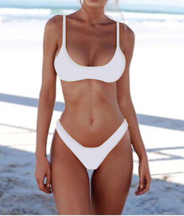 Hd9c285d9533c4f289bc2e57dd0d3783bw New Solid Sexy Bikini Set Women Swimming Suit Fashion Swimsuit Two-Piece Swimwear Bathing Suit Female Biquini Plus Size XL Sets