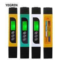Wasser Qualität Test Stift TDS Wasser Meter Trinken Wasser PH Tester Stift mit Hintergrundbeleuchtung Wasser Reinheit Temperatur Überprüfen