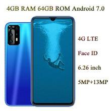 4G LTE P20 Lite 4G RAM + 64G ROM Face ID przód/aparat z tyłu z systemem Android 6.26